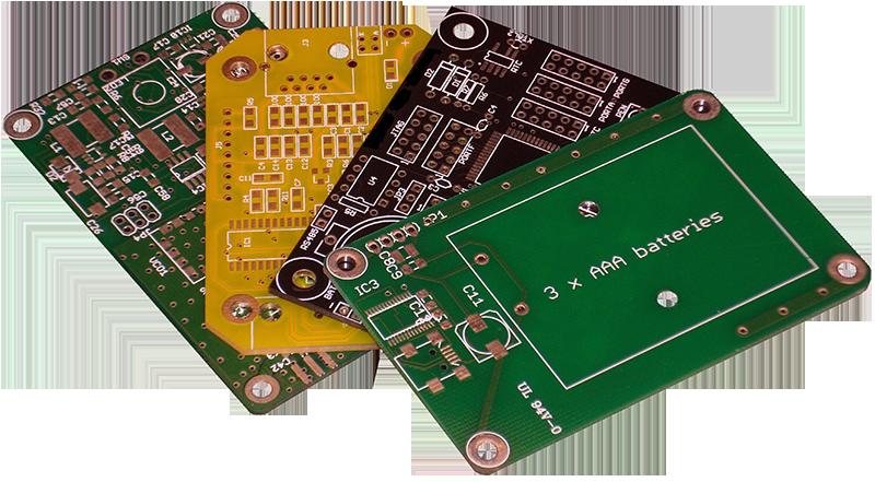 طراحی و ساخت بردهای مدار چاپی(PCB)